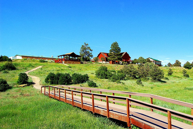 Boardwalk at Sophia Retreat and Event Center in Dolores, Colorado