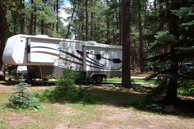 Sportsman 39 s campground and mountain cabins pagosa for Fish store colorado springs