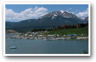Lake Dillon Colorado with 26 miles of shoreline, Colorado Vacation Directory