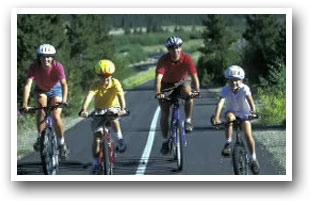 Paved, The Summit County Recreational Pathway System, 55-miles, is a Non-Motorized Route Connecting Towns, Colorado Vacation Directory