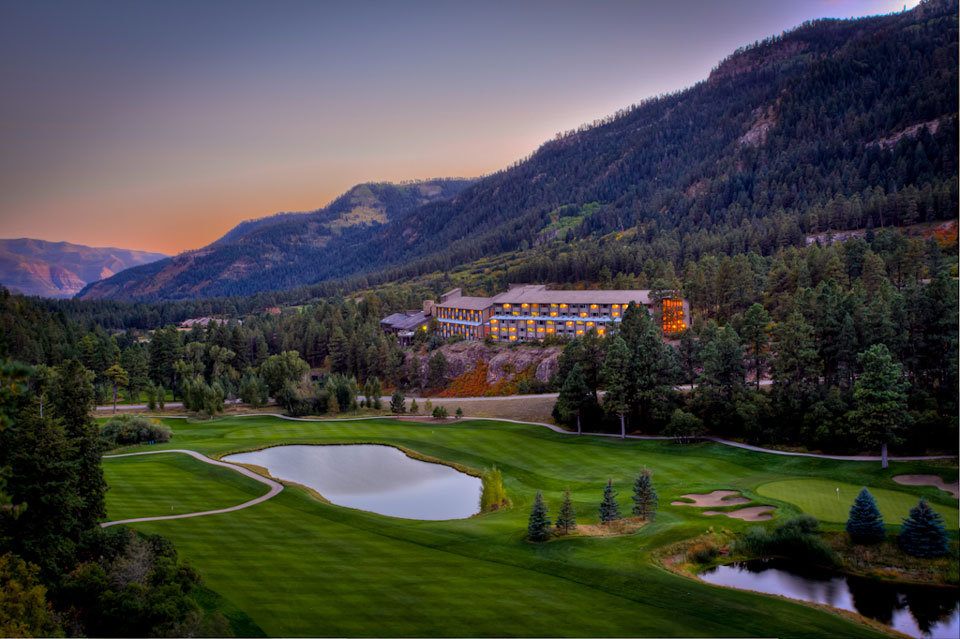 Lodge on Golf Course in Durango Colorado, The Colorado Vacation Directory