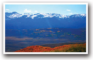 A Stunning View Of The Rocky Mountains From North Park Area Near Walden Colorado