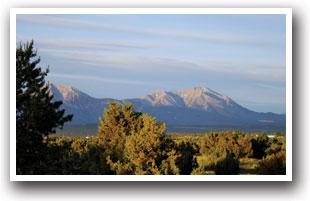View Of Mountain Near Lathrop State Park Walsenburg Colorado