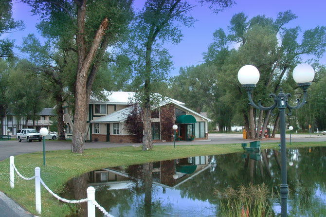The Water Wheel Inn located in Gunnison, Colorado