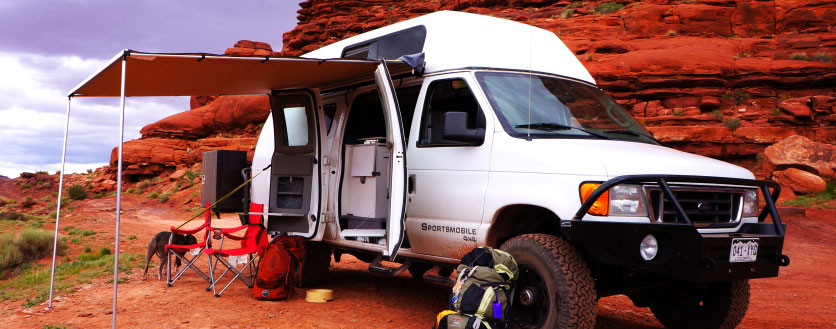 Into the Wild Expedition Rentals 4x4 Sportsmobile, The Colorado Vacation Directory